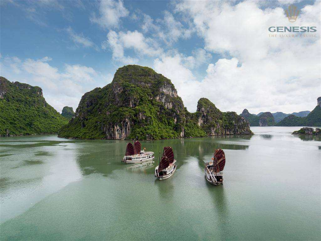 Luxury Halong bay Day Tour | Genesis Cruise| Direct Operator