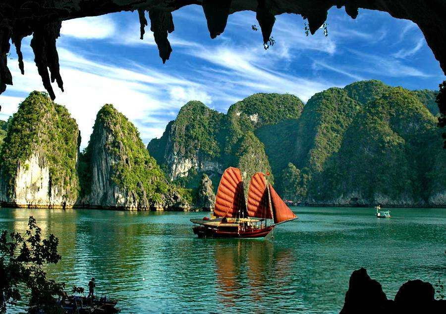 Halong bay junks