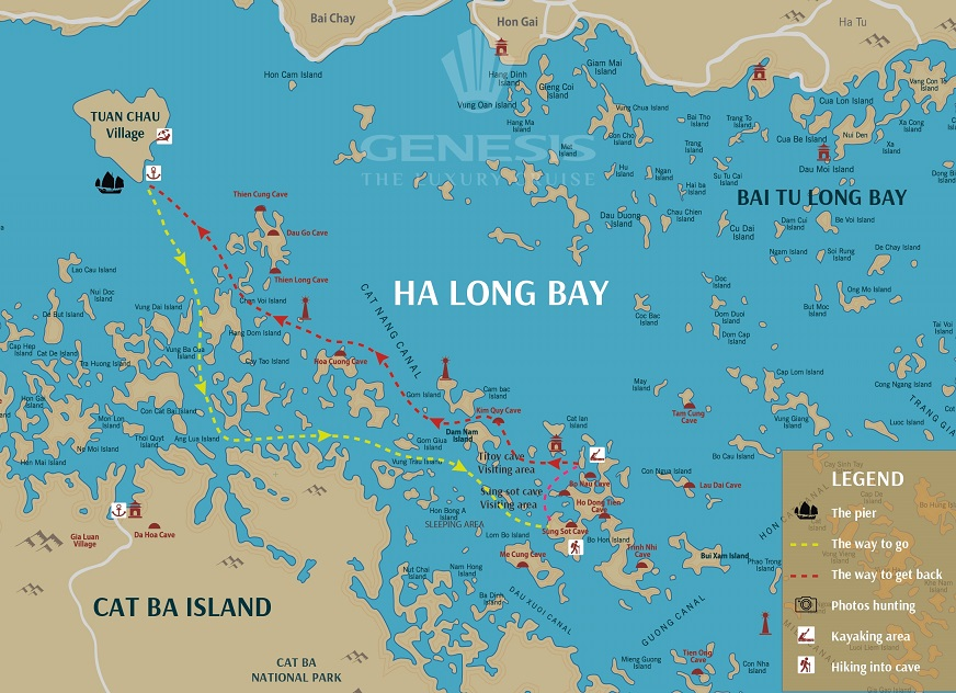 Halong Bay Luxury Day Tour