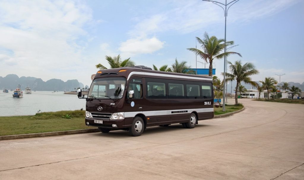 halong bay luxury van