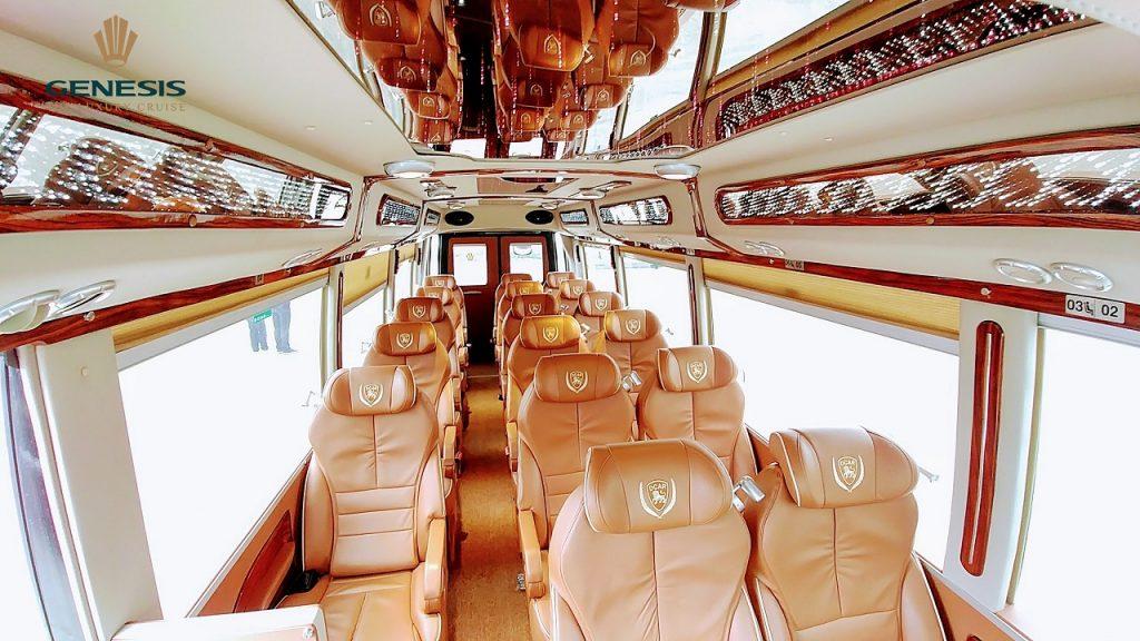 Hanoi Halong bay by limousine shuttle bus service