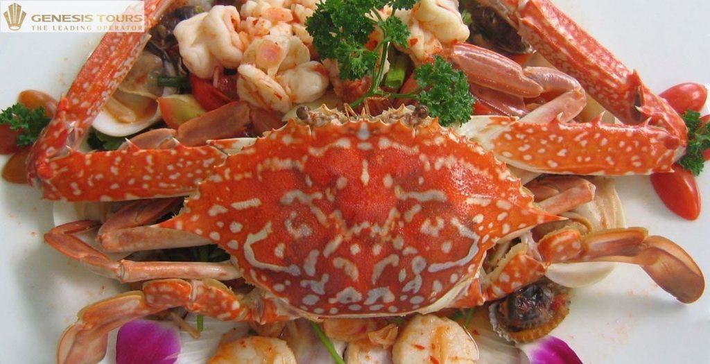 Fresh Seafood in Cat Ba Island