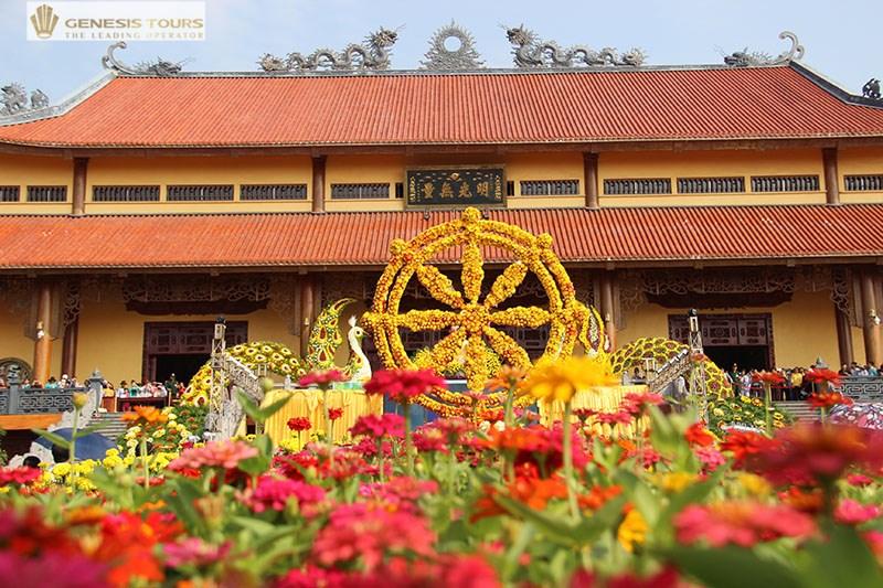 Flower Festival in Quang Ninh